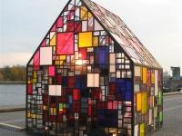\'design\' huisje Kolonihavehus