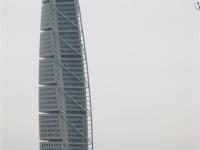 """Malmö\'s \""""turning torso\"""" (door Calatrava)"""