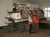 Calsberg brouwerij (en m\'n ouders)