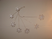Sneeuwvlok mobiel