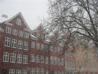 Besneeuwd Kopenhagen