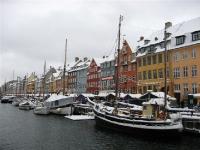 Besneeuwd Kopenhagen (Nyhavn)