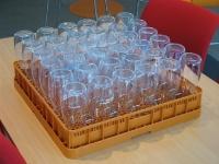 Inlay, gevuld met 36 flessen