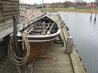 Viking sloep (Roskilde viking museum)