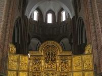 Antwerpse altaar decoratie (in Roskilde kathedraal)