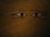 Carlsberg Glyptotek - detail van een houten sarcofaag