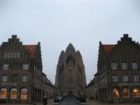 (grote) kerk in de omgeving
