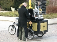 Bakfietskoffie - Coffee from a bike