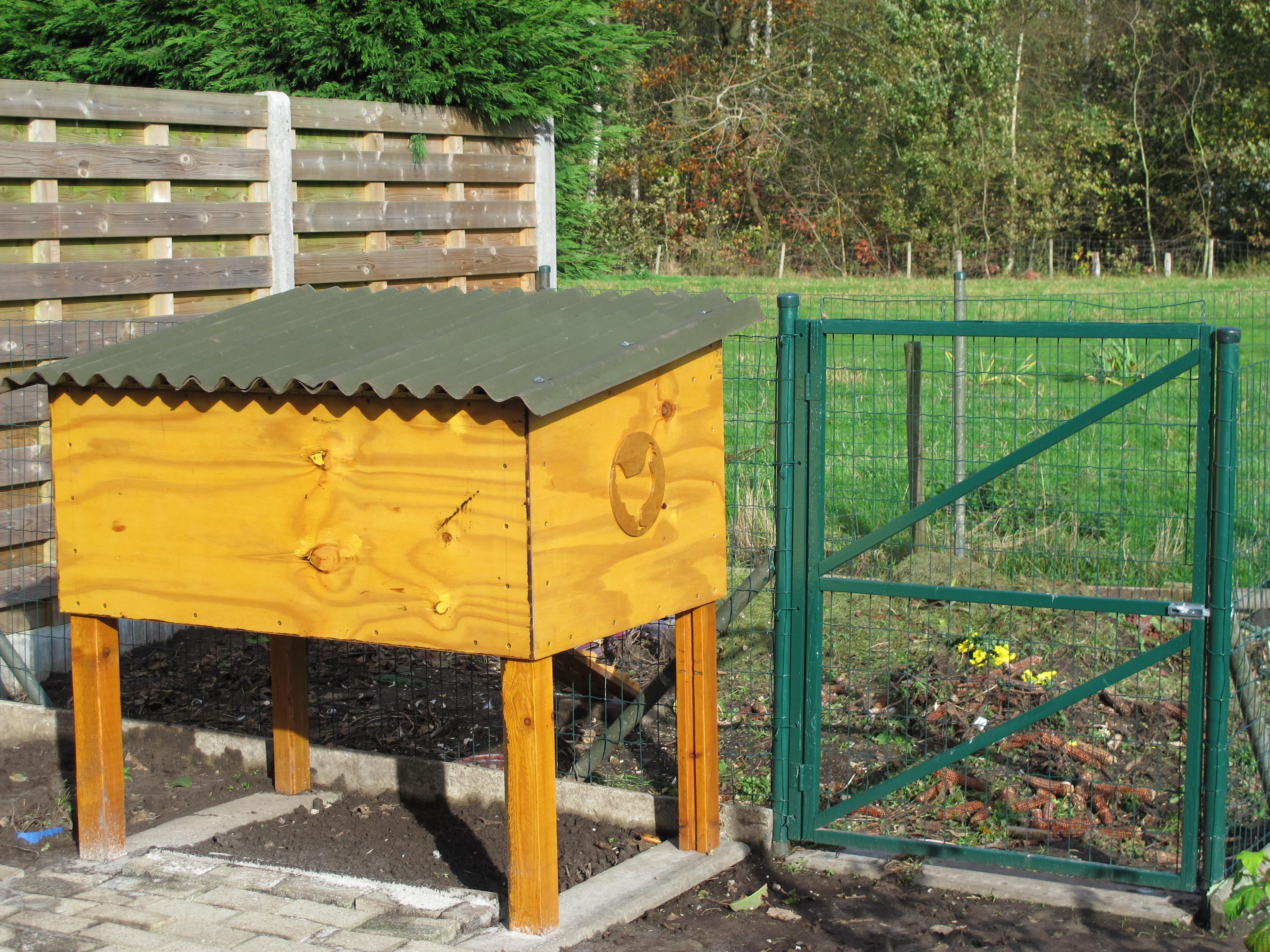 Chicken coop 1